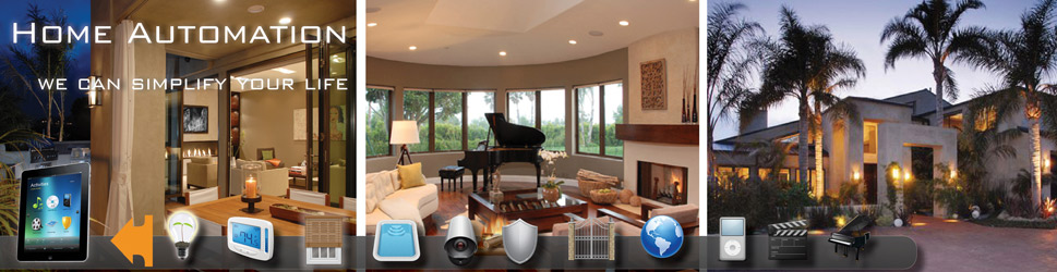 Crestron Home Automation System installed in a luxury custom home.