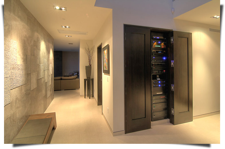 Crestron Home Automationa and Audio Video System featured.